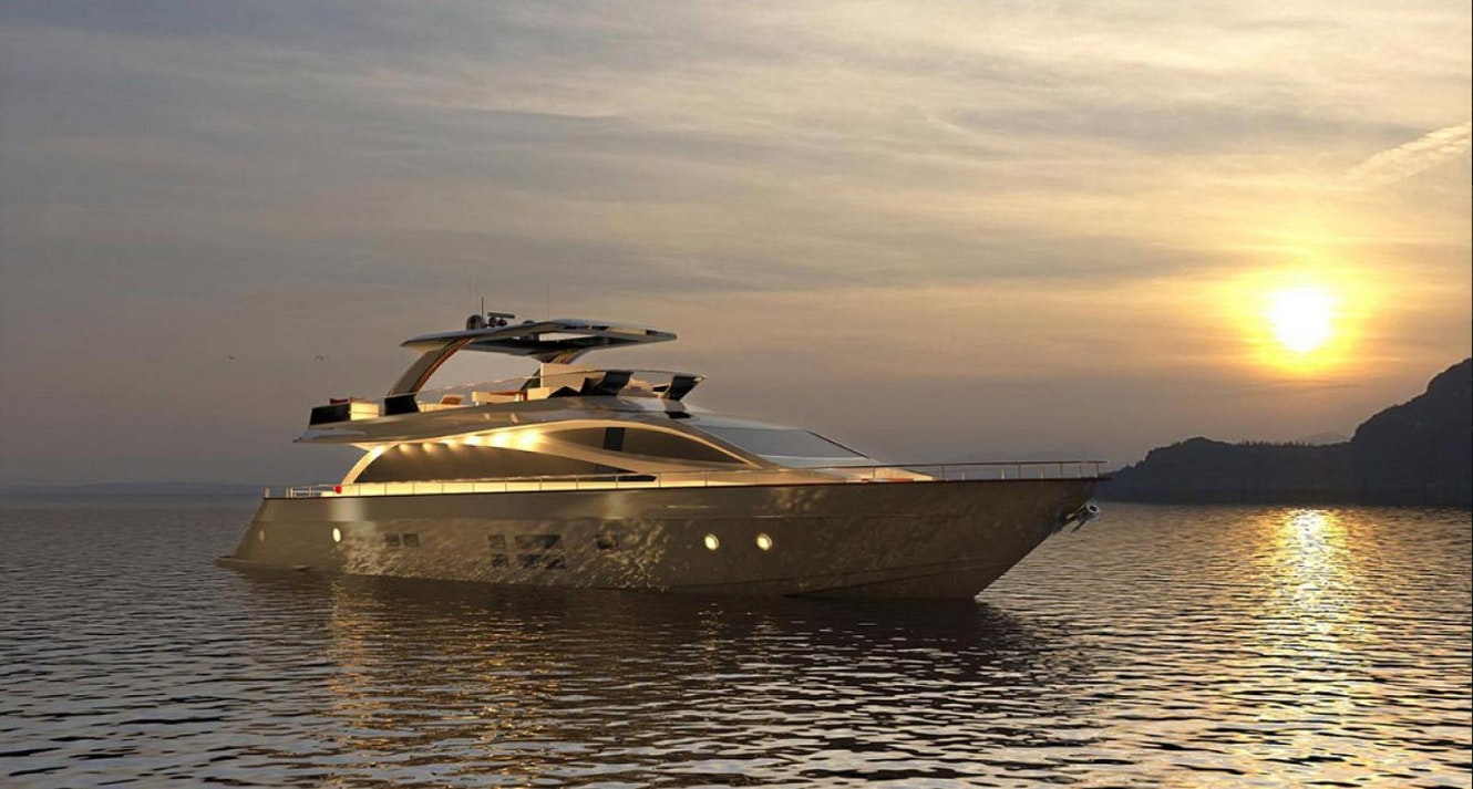 photo of The Amer 94 Motor Yacht Competes For Its Place In The Guinness Book Of World Records