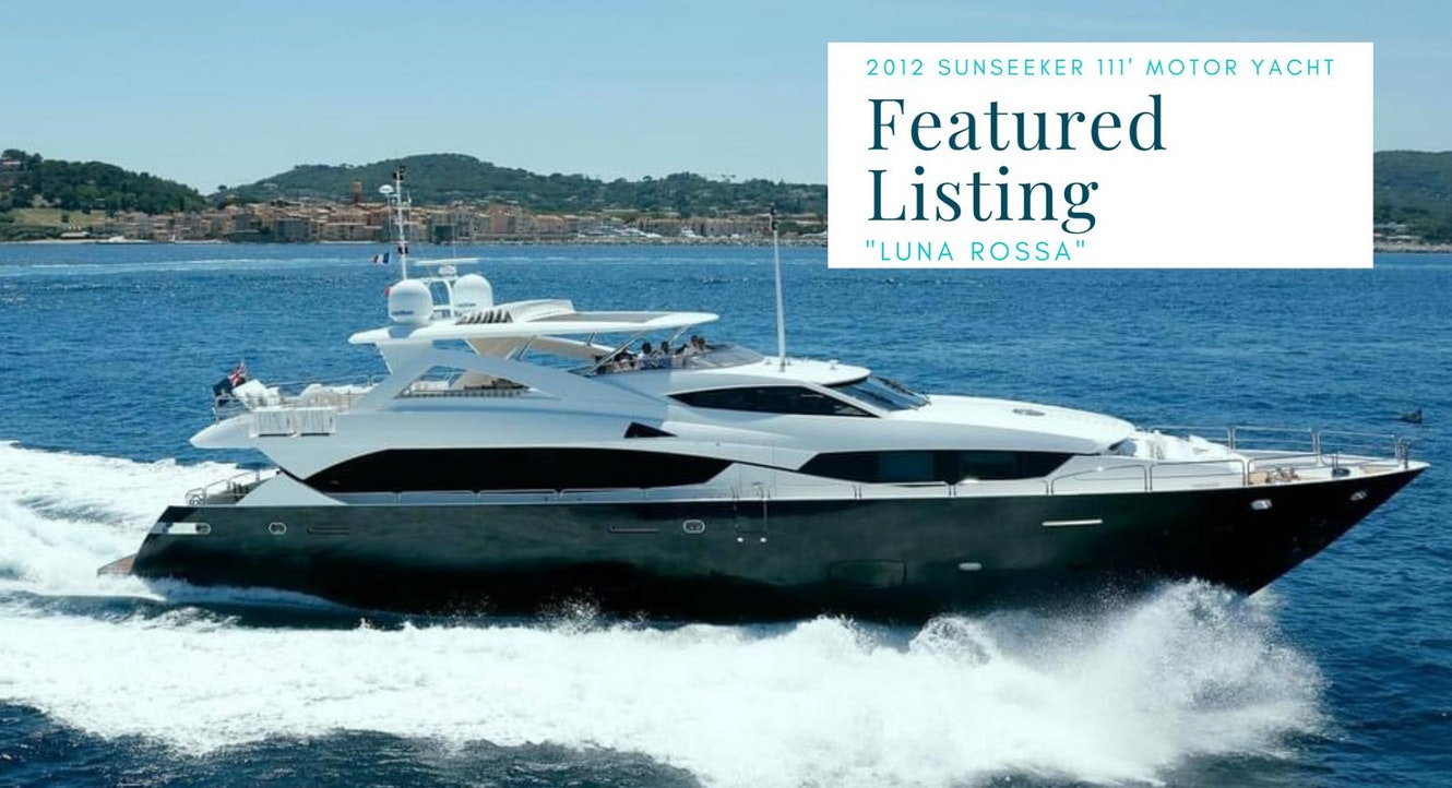 photo of Sunseeker 111 Yacht LUNA ROSSA Listed For Sale