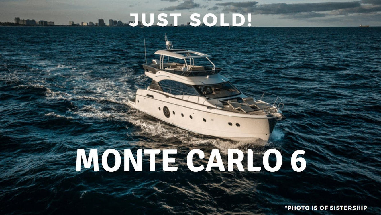 photo of Monte Carlo 6 Sold By United Yacht Sales