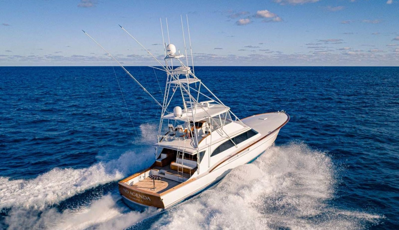 photo of No Agenda - Rybovich 73 Custom Sportfish Now Listed With United Yacht Sales