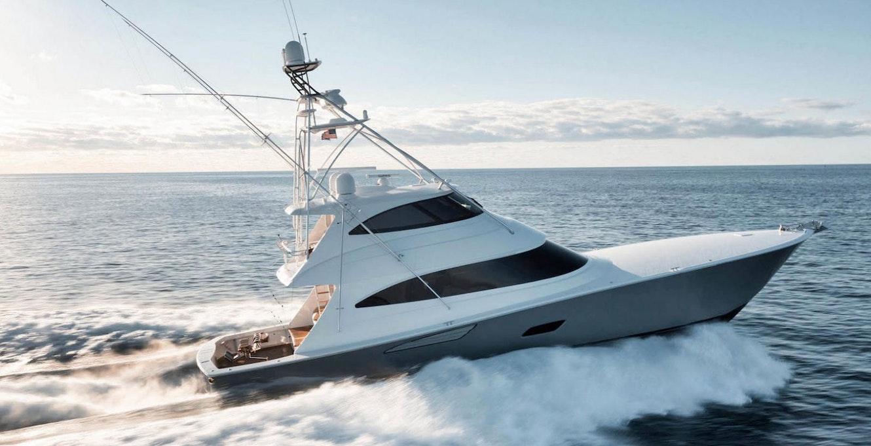 photo of Viking 80 Enclosed Bridge Humdinger Listed With United Yacht Sales