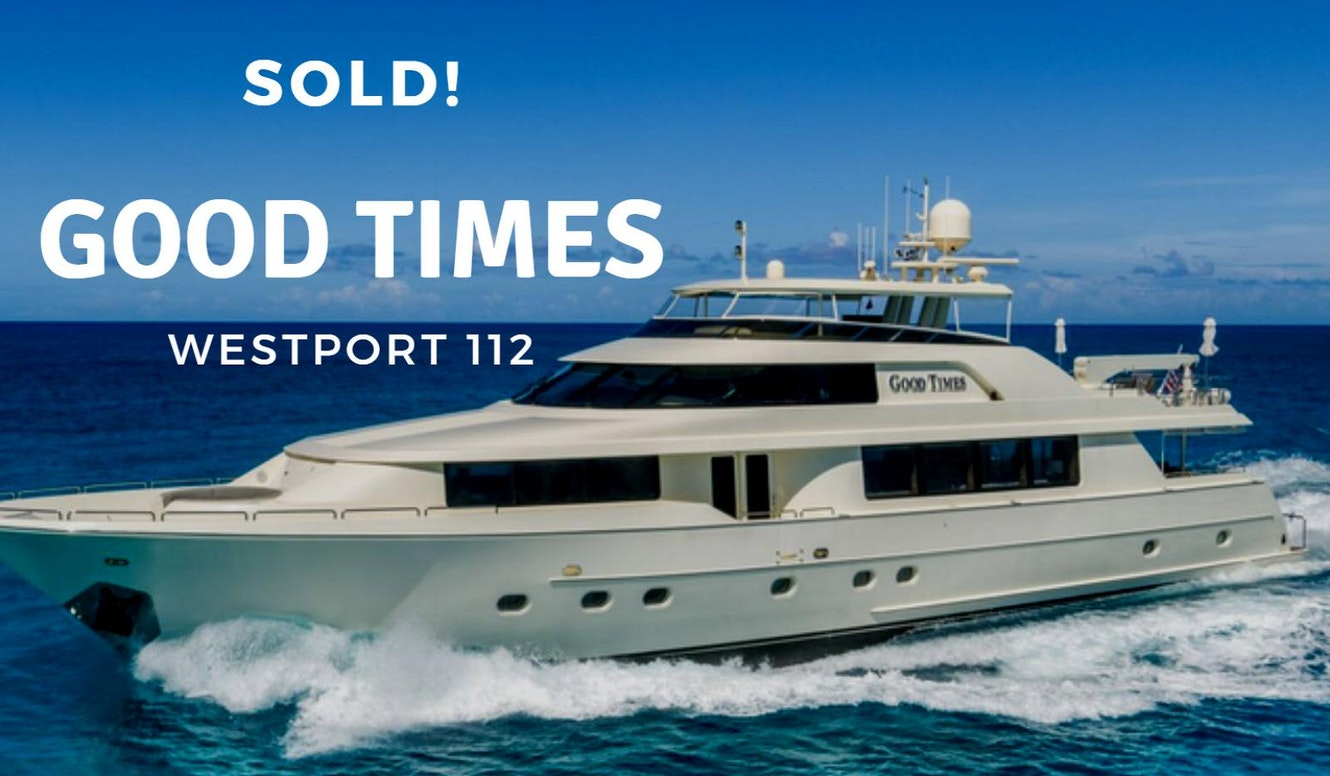 photo of Westport 112 Sold By United Yacht Sales Broker Brian Franc