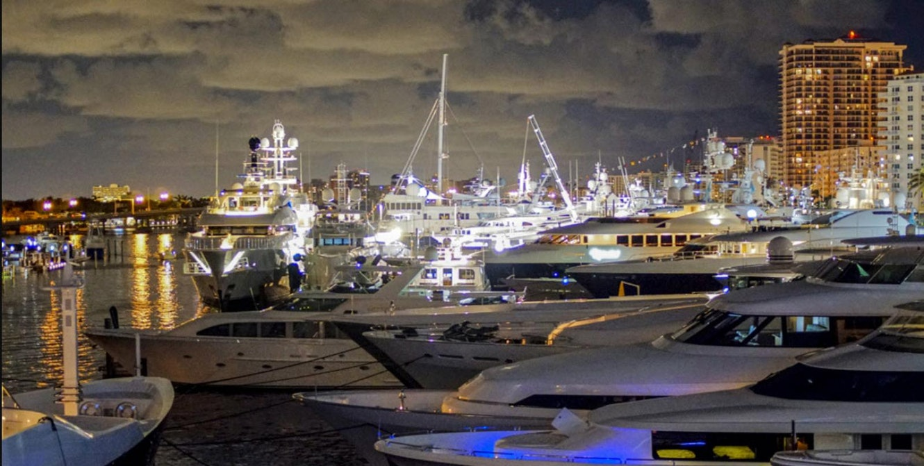 photo of Forget The Hotels. Charter Your Own Yacht For The Fort Lauderdale Boat Show