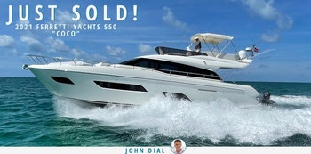 photo of Ferretti 550 Flybridge COCO Sold By United Yacht Sales