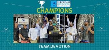 photo of United Clients Team Devotion Win Gulf Coast Triple Crown Championship