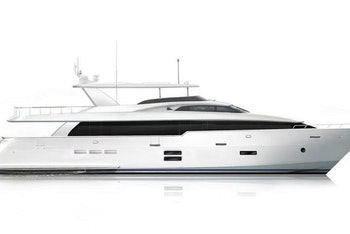 photo of Hatteras Yachts Launches Design For New Raised Pilothouse 105