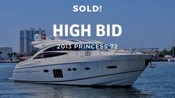 photo of Princess Yachts V72 Sold By United Yacht Sales Broker Matt Condon
