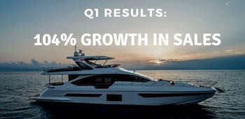 photo of Yacht Sales Grow 104 Percent In First Quarter Of 2021