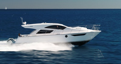 photo of New Mares 47 Outboard Express Power Catamaran