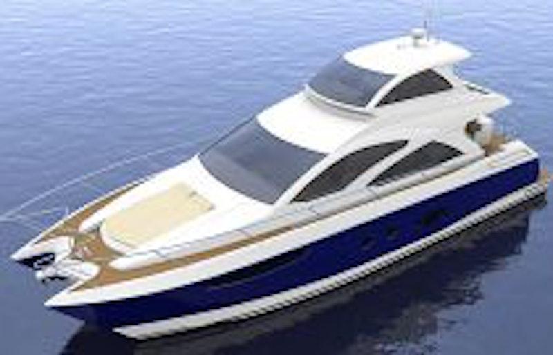 photo of mares 65 sky lounge motor yacht