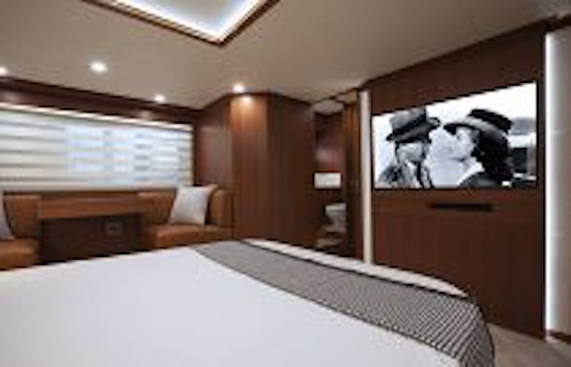photo of master suite television