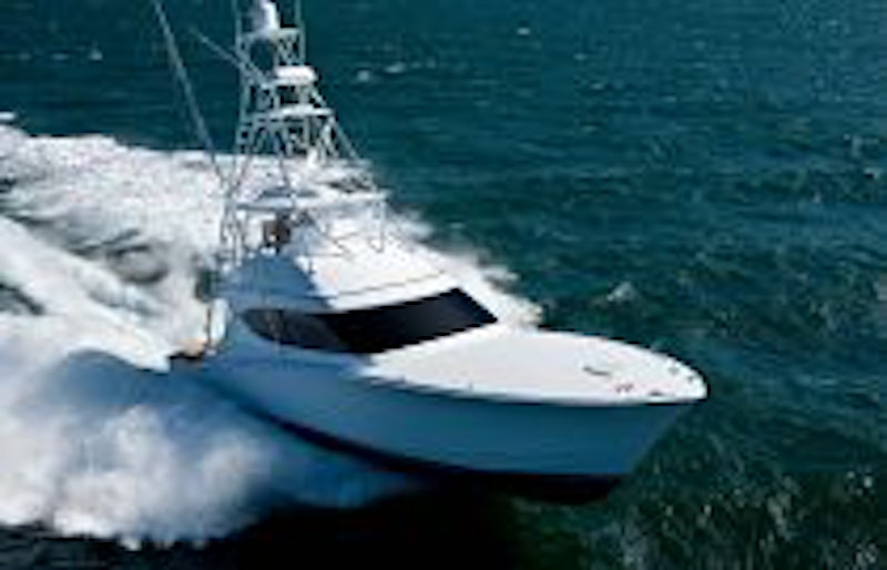 photo of Hatteras Yachts GT54 Running