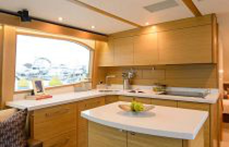 photo of Hatteras GT54 Galley