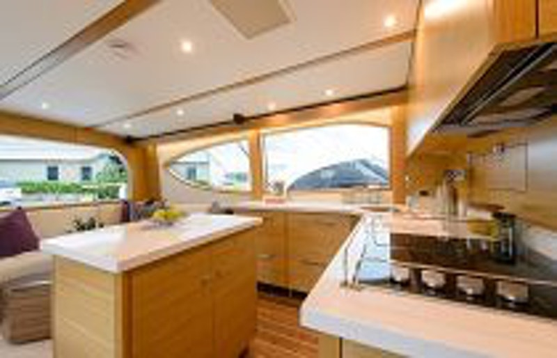 photo of Hatteras GT54 Galley Appliances