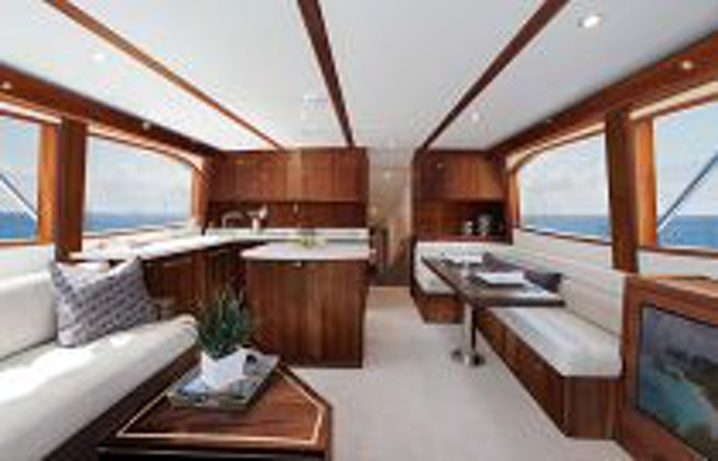 photo of Hatteras Yachts GT54 Salon