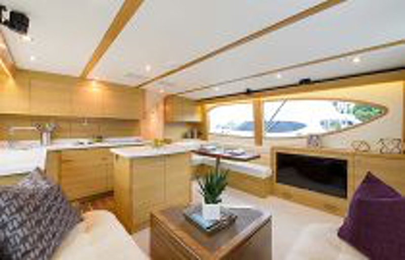 photo of Hatteras Yachts GT54 Galley